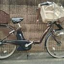 電動アシスト自転車 ブリジストン アンジェリーノDX 三人乗り
