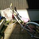 子供用自転車☆22インチ☆ピンク