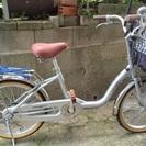 アルミ自転車  美品  20インチ