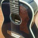 ミニギター sepiacrueJ90-BL ソフトケース付き