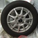 クムホのタイヤ、ホイール4本セット155/65R13