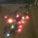 クリスマスのライト(電飾)