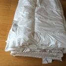IKEA シングル掛け・敷き布団セット