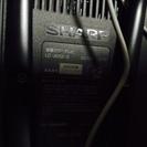アナログ20インチシャープ液晶テレビ無料で譲りますリモコンなし