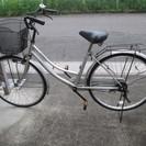 取引終了! 26in  自転車 シルバー