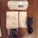 Sony      ラジオレコーダー