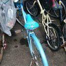 青い自転車を売りたい