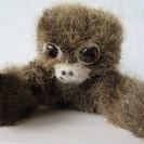 ◆昭和レトロ◆小さな手長猿と小物セット♪籐の靴・熊のクリップ
