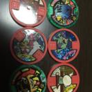 妖怪ウォチのメダル6枚