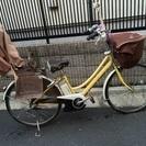 *電動自転車*