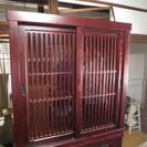 定価15万くらいの木製の食器棚