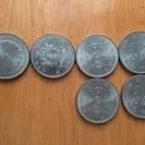 記念コインや旧札&コイン 500円 100円 50円