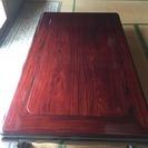 ◆紫檀  座卓 テーブル 座敷机 長方卓  家具◆中古品・美品◆