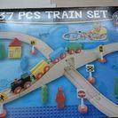 木の玩具 TRAIN SET