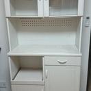 食器棚 白