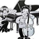 コントラバスとピアノの教室です!!