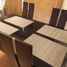 ダイニングテーブル セット(椅子4脚)伸縮タイプ