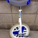 一輪車 ブリジストン スケアクロウ(14インチ) 白×青