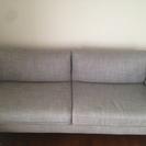 IKEA ソファ 3人がけイースンダ グレー