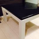 少し小さめ(65cm×65cm)のおしゃれこたつテーブル