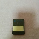 PS2メモリーカード8MB