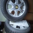 スタッドレスタイヤ&アルミホイール(4本)セット売ります。