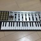 【交渉中】【ジャンク】KORG MIDIコントローラ microK...