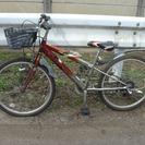 [引渡調整中] 子供用 24インチ 自転車 マウンテンバイク 中古...