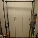 パイプハンガー 2段 横80cmサイズ