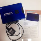 WX01 WiMAX 2+ルーター【使用5ケ月】/郵送可