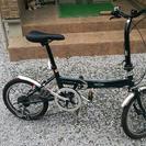イギリスのminiの折りたたみ自転車