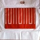 袋帯・オレンジ 鮮やかできれいです! 13 (記述変更)