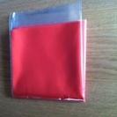 茶道具 袱紗 赤橙  31