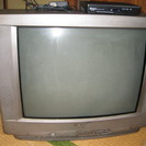 21インチ ブラウン管テレビ
