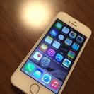 【終了しました】iPhone5S ソフトバンク 16GB ゴールド 中古
