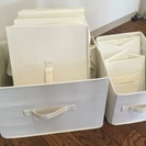 ニトリ 折畳式収納ケース 7個セット
