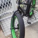ファットバイク美品 譲ります。引き取り限定