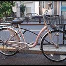 ★リサイクル・中古自転車・ブリヂストン・カルク・26インチ・ローズ