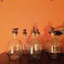 ガラスボトル(5本セット)