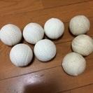 少年野球のC球(古いタイプ)