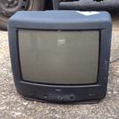 映らないブラウン管テレビです。