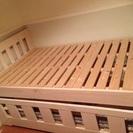引き出し式二段ベッド キッズ 子ども 親子