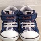 【送料込】 ミキハウス ベビーシューズ 12.5cm 靴