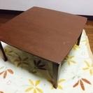 11/22 コンパクト折りたたみテーブル 中古 キズあり 60cm...