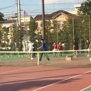 【草加公園テニスコートを10面とって大規模開催します!くじ引きダブ...