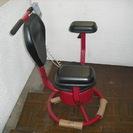 未使用新品・電動フイットネスラウンドソファ・チェアー。今日だけ20%オフです! 両肘付き赤 w80、時間・速度・距離・消費カロリー表示機能付き - 家具
