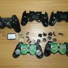 PS3 コントローラー 3個 ジャンク パーツ取り