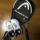 硬式テニスラケット&テニスシューズ(クレー/オムニ)