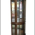 カリモク コレクションボード コーナー用 ガラス棚板付 市内配送無料