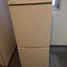 2007年SHARP 2ドア冷蔵庫